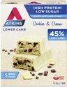 Atkins Advantage Cookies & Cream - Maaltijdreep - 5 x 30 gram - Voordeelverpakking