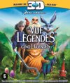 De Vijf Legendes (Rise Of The Guardians) (3D+2D Blu-ray)