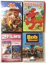DVD Set - 5 Films - Bob the Bouwer, Pipo en de p-p-Parelridder, Clifford, Titanic, het geheim van de Kaasfabriek