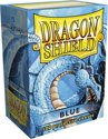 Afbeelding van het spelletje Dragon Shield Standard Sleeves - Blue (100 Sleeves)