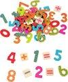 Afbeelding van het spelletje Lelin Toys - Magnetisch Cijfers - Rekentekens - 60 cijfers