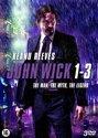 John Wick 1 + 2 + 3 (3 movie DVD Boxset)