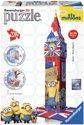 Ravensburger Big Ben Minions- 3D puzzel gebouw - 216 stukjes