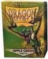 Afbeelding van het spelletje Dragon Shield Standard Sleeves - Matte Apple Green (100 Sleeves)