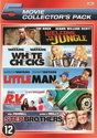 LITTLE MAN /WELCOME TO THE JUNGLE / RV / STEP BROTHERS / WHITE CHICKS - 5 PACK