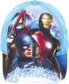 Avengers - Cap - Blauw - 54 CM
