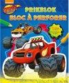Afbeelding van het spelletje Blaze and the monster machines Prikblok / Blaze and the monster machines Bloc à perforer