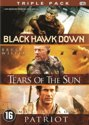 BLACK HAWK DOWN / PATRIOT, THE / TEARS OF THE SUN - TRIPPLE PACK