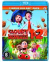 Het Regent Gehaktballen 1 & 2 (Cloudy With A Chance Of Meatballs 1 & 2) (Blu-ray)