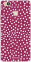 Polka Dots Bordeaux Rood