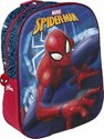 Spiderman 3d rugzak blauw