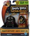 Angry Birds& Star Wars Power Battlers Darth Vader Pig â?? 6x5x5cm | Schietspeelgoed voor Kinderen | Zelfrijdende Poppetjes