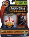 Angry Birds& Star Wars Power Battlers Luke Skywalker Bird â?? 6x5x5cm | Schietspeelgoed voor Kinderen | Zelfrijdende Poppetjes