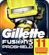 Gillette Fusion Proshield Geel - 11 stuks - Scheermesjes