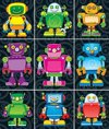 Afbeelding van het spelletje Robots Prize Pack Stickers