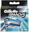 Gillette Mach 3 Turbo - 8 stuks - Scheermesjes