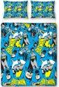 Batman Hero - Dekbedovertrek - Tweepersoons - 200 x 200 cm - Multi