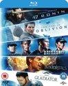 5-Movie Starter Pack 2: 47 Ronin - Oblivion - Battleship - Immortals - Gladiator (import)