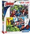 Clementoni Puzzel The Avengers, 2x60st.