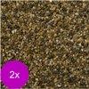 Vdl aquariumgrind granulaat 1-2 mm - 2 st à 10 KG