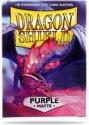Afbeelding van het spelletje Dragon Shield Standard Sleeves - Matte Purple (100 Sleeves)