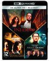 Inferno - Angels & Demons - The Da Vinci Code (4K UHD Blu-ray)
