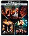 Inferno - Angels & Demons - The Da Vinci Code (4K UHD Blu-ray)