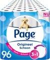 Page/Scottex Origineel Schoon Wc Papier - 96-rol
