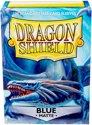 Afbeelding van het spelletje Dragon Shield Standard Sleeves - Matte Blue (100 Sleeves)