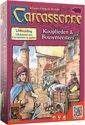 Afbeelding van het spelletje Carcassonne - Uitbreiding Kooplieden en Bouwmeesters - Bordspel