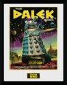Framed collector print met kader 30 x 40cm Doctor Who The Dalek Book