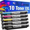 Tito-Express PlatinumSerie PlatinumSerie® 10 toner compatibel voor HP CF350A - CF353A zwart cyaan magenta gele XXL Color LaserJet Pro MFP M 176 n / Color LaserJet Pro MFP M 170 Series / Color LaserJet Pro MFP M 177 fw