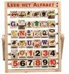 Afbeelding van het spelletje Alfabet-rekenspel.