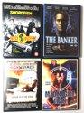 DVD Set - 4 Stuks - Midnightman, Highwaymen, Swordfish, The Banker