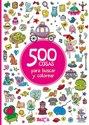 Afbeelding van het spelletje 500 choses à chercher et à colorier - titre 2 (cast)