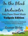 In the Bleak Midwinter Easy Piano Sheet Music Tadpole Edition