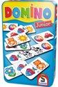 Afbeelding van het spelletje Domino Junior In Tin Box Pocketeditie