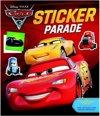 Afbeelding van het spelletje Disney sticker- en kleurboek Cars 3 28 cm