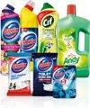 Totaal Schoonmaakpakket - 7 stuks - Voordeelverpakking