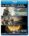 Halo box (Halo 4: Forward Unto Dawn, Halo: Nightfall, Halo: The Fall of Reach)
