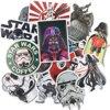 25 Star wars stickers 6 x 7 cm voor Agenda Fiets skateboard muur laptop etc