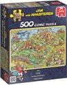 Jan van Haasteren Voetbal - Puzzel - 500 stukjes