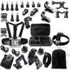 33 in 1 Action Cam accessoire set geschikt voor Go Pro Hero 1 , 2, 3, 3+, 4 & 5 + Eken SJCAM  + Luxe opbergkoffer