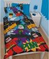 Batman Lego dekbed, dekbedovertrek DC Super Heroes