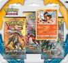 Afbeelding van het spelletje Pokémon TCG: 1 Sun & Moon 3 Pack Blister