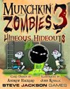 Afbeelding van het spelletje Munchkin Zombies 3 Hideous Hideouts