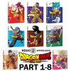 Dragonball Super ( Dragon Ball ) 1-8 Series DVD