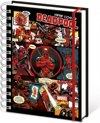 Marvel Comics Notebook A5 Deadpool