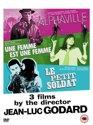 Jean-Luc Godard Collection 3 films by the director : Alphaville / Le Petit Soldat / Une Femme Est Une Femme