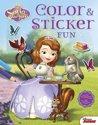 Afbeelding van het spelletje Disney color & sticker fun Sofia  het prinsesje ; Disney color & sticker fun princesse Sofia
